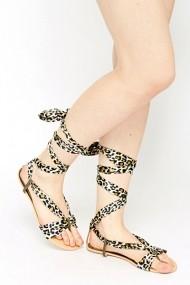 Sandale plate 49322-132334 Verde