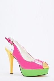 Pantofi cu toc 50201-134150 Fucsia