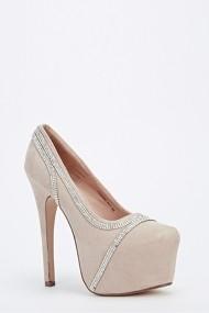 Pantofi cu toc 52564-138150 Portocaliu