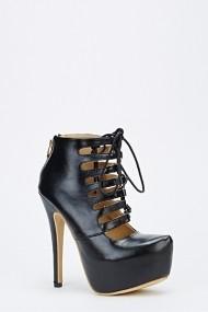 Pantofi cu toc 53093-139068 Negru
