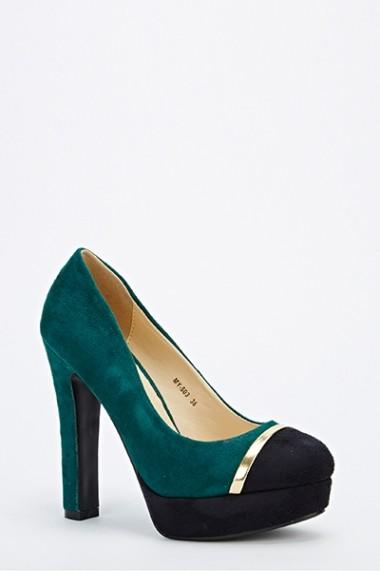 Pantofi cu toc 53147-139171 Albastru