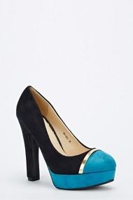 Pantofi cu toc 53147-139172 negru