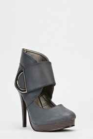 Pantofi cu toc 53192-139258 albastru