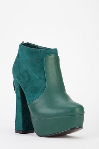 Botine 53521-139937 Verde
