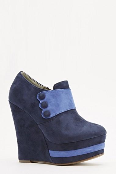 Botine 55391-143930 Albastru