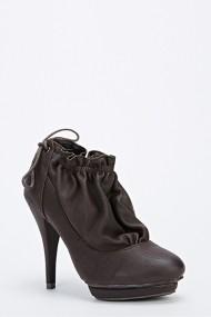 Pantofi cu toc 56316-145976 maro