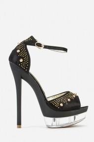 Sandale cu toc 57857-149168 Negru