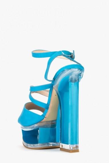 Sandale cu toc 589775-161939 negru