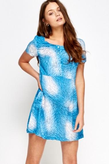 Rochie de zi 591367-164570 albastru