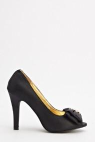 Pantofi cu toc 593066-167718 Negru