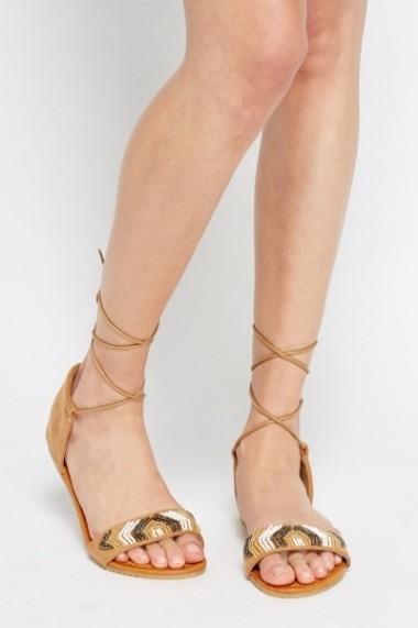 Sandale plate 595124-172416 Maro