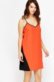 Rochie scurta 600397-183573 portocalie