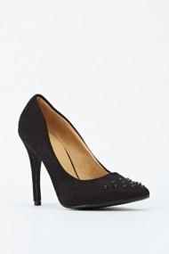 Magassarkú cipő 601814-186746 Fekete