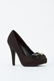 Pantofi cu toc 601817-186760 negru