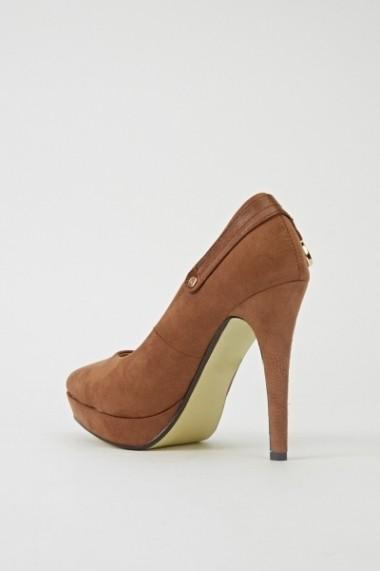 Pantofi cu toc 602226-187755 negru