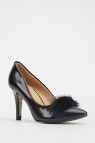 Pantofi cu toc 602671-188796 Negru