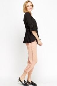 Pantaloni drepti 603253-190050 Roz