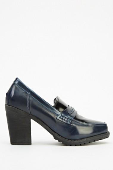 Pantofi cu toc 603983-191847 Negru - els