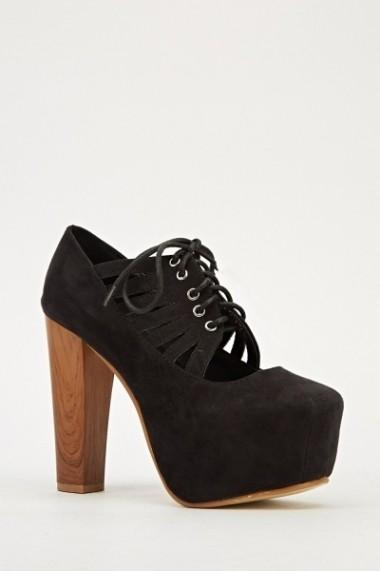 Pantofi cu toc 607118-198932 portocaliu
