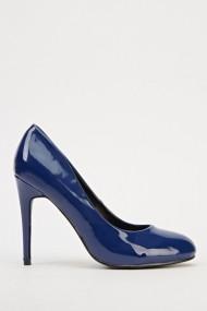 Pantofi cu toc 607835-200687 albastru