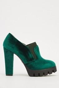 Pantofi cu toc 608951-203236 Verde