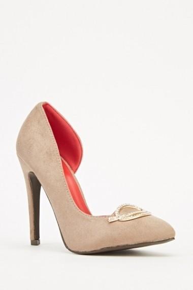 Pantofi cu toc 609102-218493 negru
