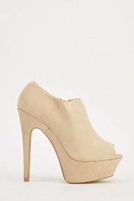 Pantofi cu toc 609490-204336 Bej