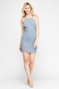 Rochie scurta 609990-205504 albastra