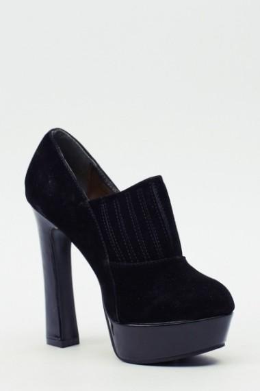 Pantofi cu toc 611003-208082 maro - els