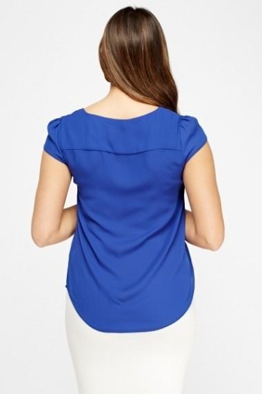 Bluza 611010-208094 Albastru