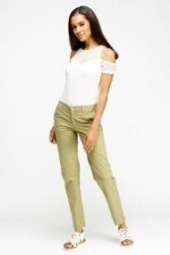 Pantaloni drepti 611424-209156 verde