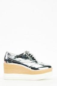 Pantofi 611939-210406 argintiu
