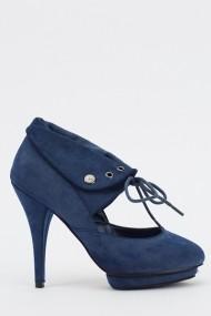 Pantofi cu toc 612409-212892 albastru