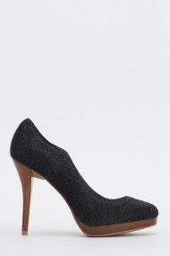 Pantofi cu toc 612538-211583 negru