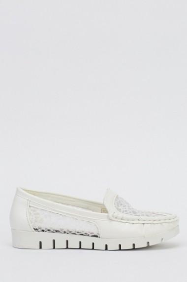 Pantofi 613036-212630 Alb