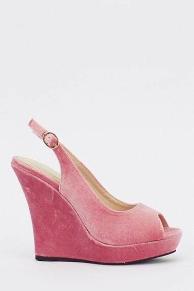 Pantofi cu toc 613288-213161 roz