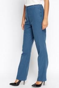 Pantaloni drepti 613682-213779 albastru
