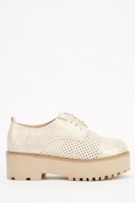Pantofi 614007-214287 bej - els