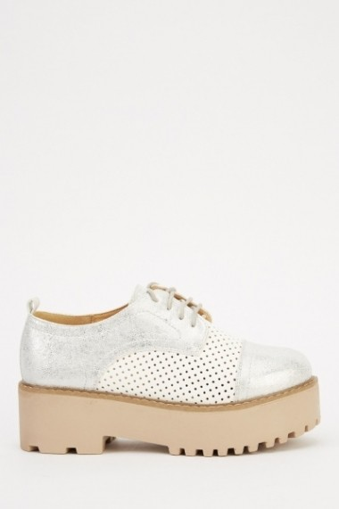 Pantofi 614007-214288 argintiu