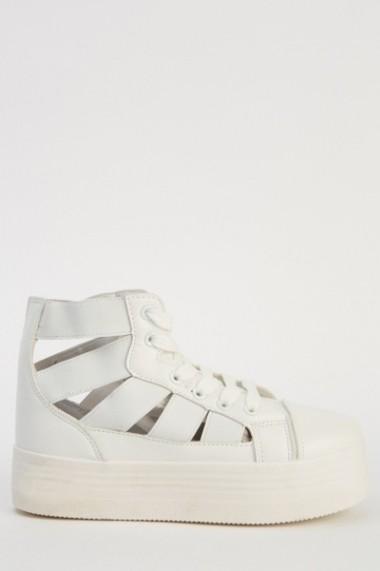 Pantofi sport 614400-215157 alb