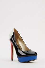 Pantofi cu toc 615434-217413 negru