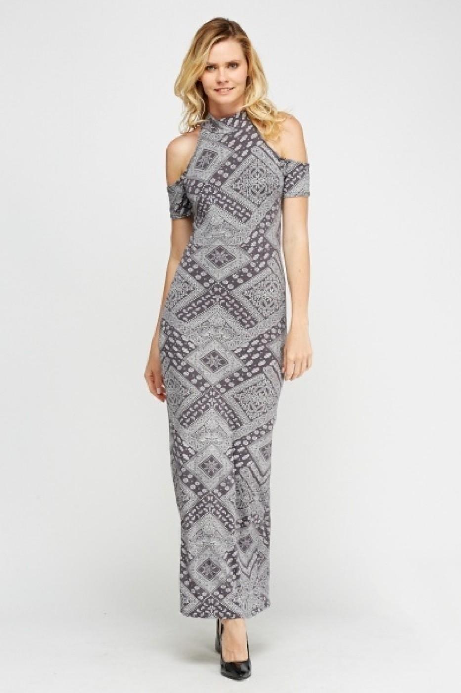 eb613c7471 eOutlet Estélyi ruha FVP-616227-218910_els Szürke - FashionUP!