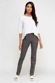 Pantaloni skinny 616457-219412 Gri