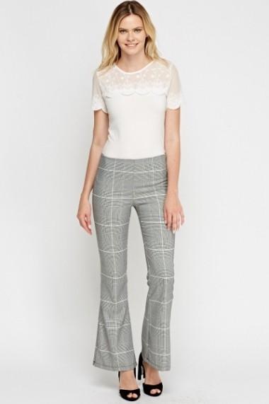 Pantaloni largi 616749-220056 negru - els