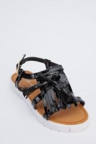 Sandale plate 617764-221939 negru
