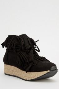 Pantofi cu toc 618361-223232 Negru