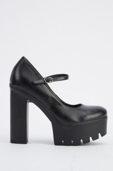 Pantofi cu toc 618790-224069 Negru - els