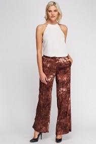 Pantaloni largi 619738-225983 Multicolor