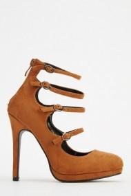 Pantofi cu toc 620685-228186 Maro