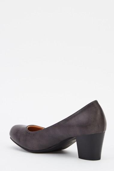 Pantofi cu toc 624705-236923 Gri